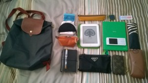 What's in my bag, everyday version